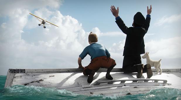 Bande annonce Tintin 3D le secret de la licorne par Spielberg et Jackson 8