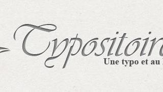 Typositoire - Une typo et au lit