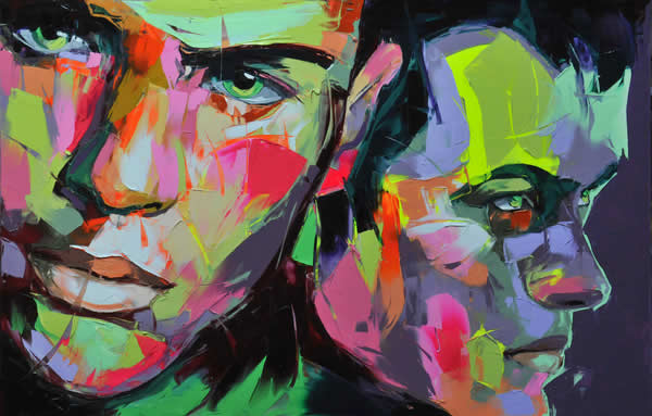 Fluo Painting de Francoise Nielly 2