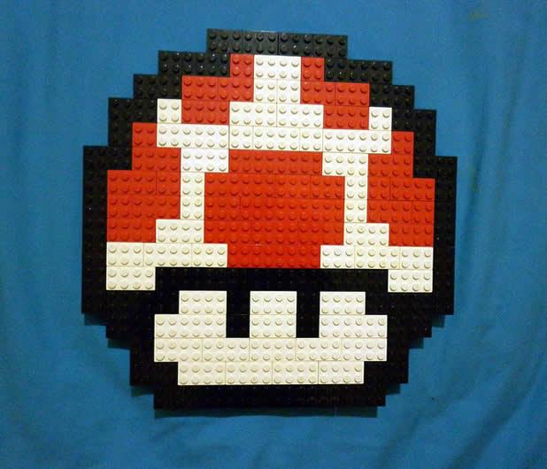 Un curieux mélange de PixelArt de jeuxvidéos et de LEGO 5