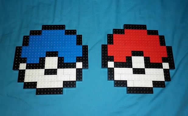 Un curieux mélange de PixelArt de jeuxvidéos et de LEGO 8