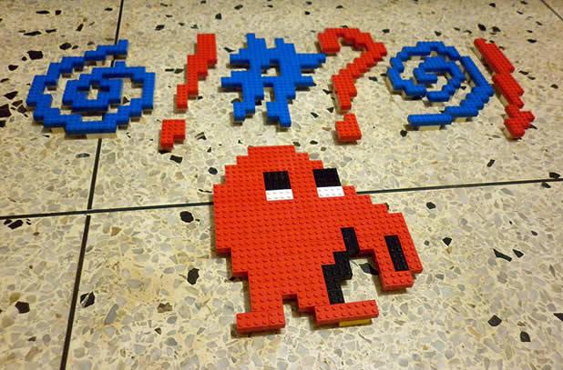 Un curieux mélange de PixelArt de jeuxvidéos et de LEGO 9