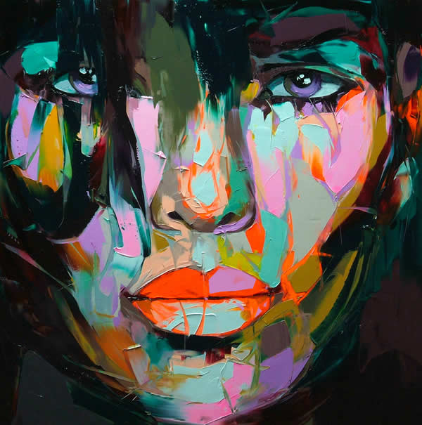 Fluo Painting de Francoise Nielly 3
