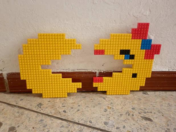 Un curieux mélange de PixelArt de jeuxvidéos et de LEGO 14