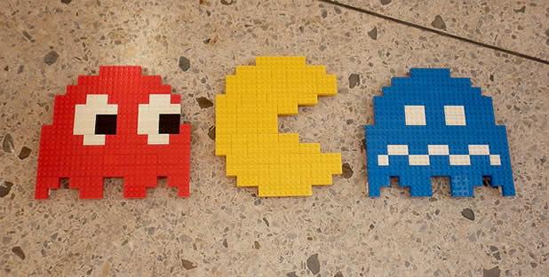 Un curieux mélange de PixelArt de jeuxvidéos et de LEGO 15