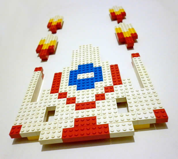 Un curieux mélange de PixelArt de jeuxvidéos et de LEGO 18