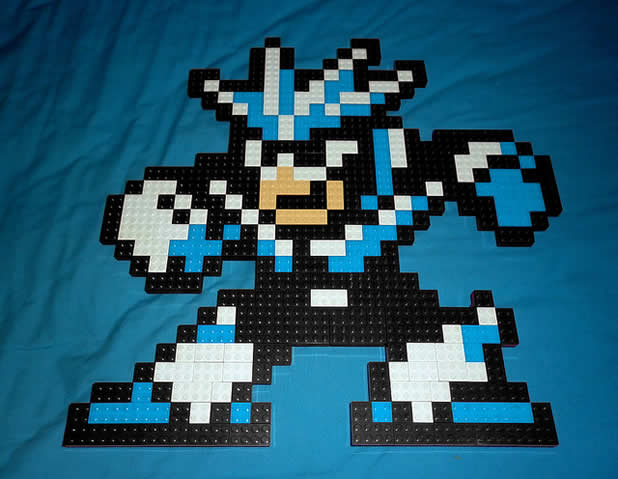 Un curieux mélange de PixelArt de jeuxvidéos et de LEGO 19