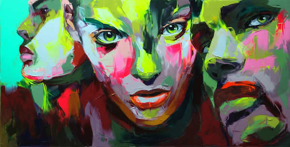 Fluo Painting de Francoise Nielly 4