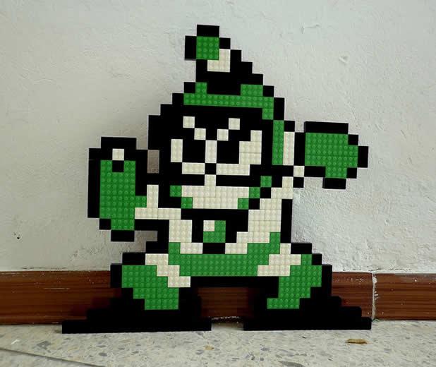 Un curieux mélange de PixelArt de jeuxvidéos et de LEGO 22
