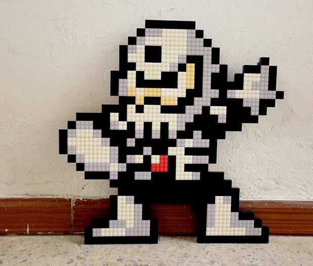 Un curieux mélange de PixelArt de jeuxvidéos et de LEGO 23