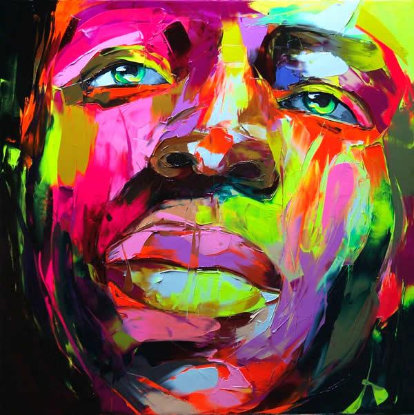 Fluo Painting de Francoise Nielly 5