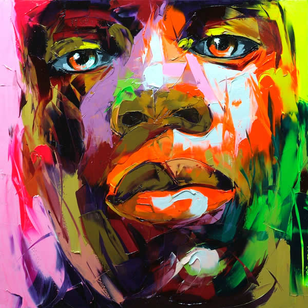 Fluo Painting de Francoise Nielly 6