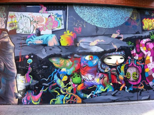 18 Street Art Fun et créatifs - vol4 13