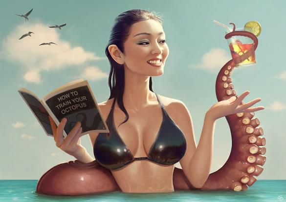 Les illustrations Sexy de Serge Birault 2