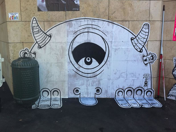14 street art fun design 18 Street Art Fun et créatifs   vol4
