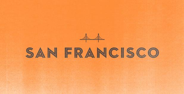 Logotypes typograhique et minimalistes de villes du monde - EF Destinations 16