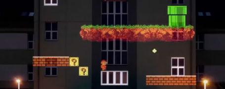 8 bit Invader - Light Lining 7