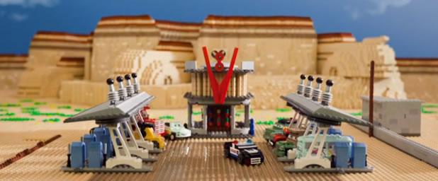 Le trailer officiel de Cars 2 recréé en LEGO 2