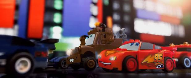Le trailer officiel de Cars 2 recréé en LEGO 3