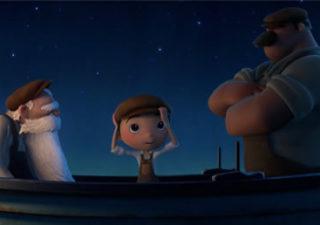 Extrait du prochain court métrage Pixar : La Luna