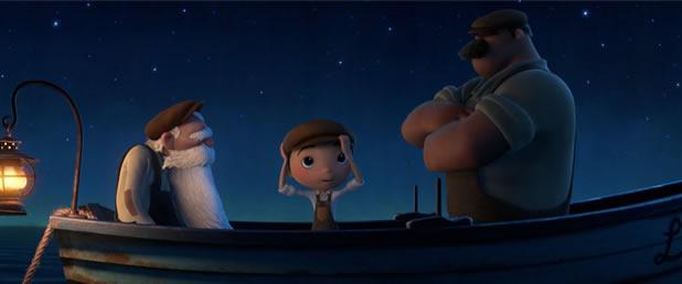 Extrait du prochain court métrage Pixar : La Luna 3