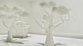 Superbes pubs Toshiba en Origami 3D