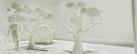 Superbes pubs Toshiba en Origami 3D 1