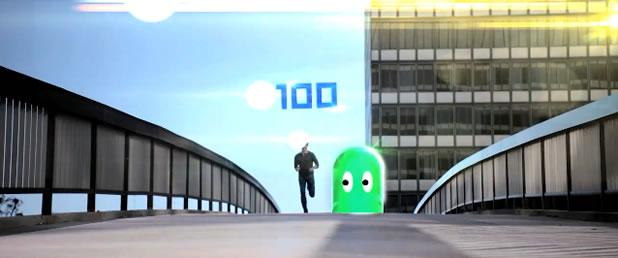 Pac Man Run In reel life 3