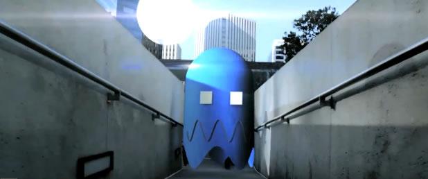 Pac Man Run In reel life 2