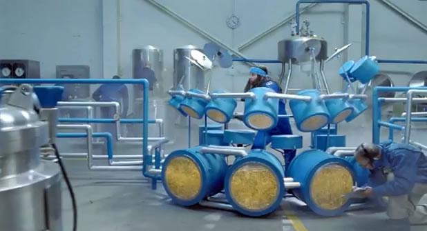 Pub créative pour la bière Hahn 2