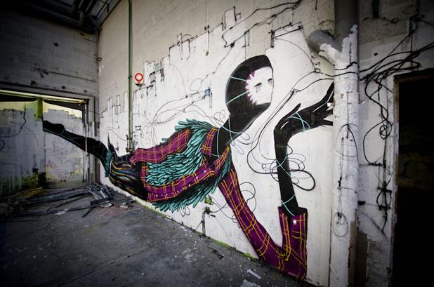 Thierry Gaude photographie les Street-Art de Lemza 2