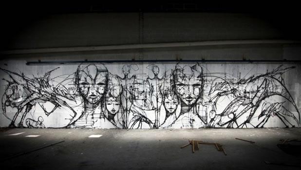 Thierry Gaude photographie les Street-Art de Lemza 3