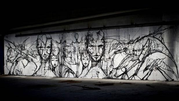 Thierry Gaude photographie les Street-Art de Lemza 4