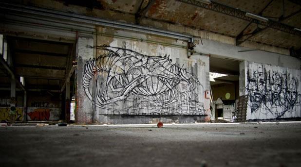 Thierry Gaude photographie les Street-Art de Lemza 6