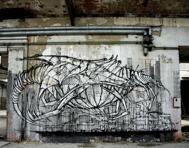 Thierry Gaude photographie les Street-Art de Lemza 7