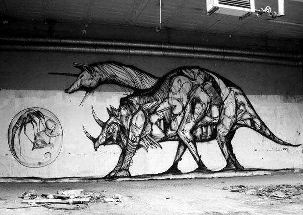 Thierry Gaude photographie les Street-Art de Lemza 9