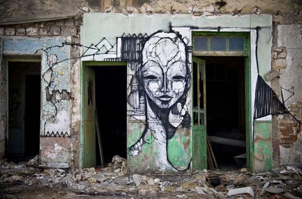 Thierry Gaude photographie les Street-Art de Lemza 10