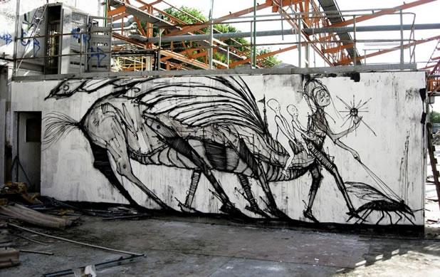 Thierry Gaude photographie les Street-Art de Lemza 11