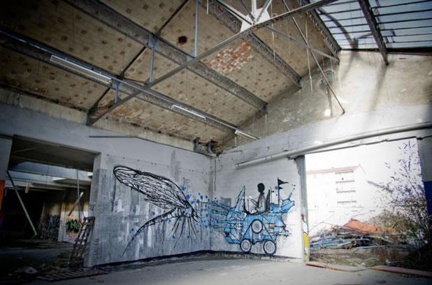 Thierry Gaude photographie les Street-Art de Lemza 14