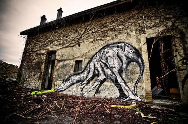 Thierry Gaude photographie les Street-Art de Lemza 16
