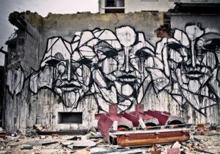 Thierry Gaude photographie les Street-Art de Lemza 1