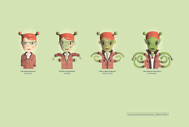 85+ publicités créatives et designs de Juillet 2011 66