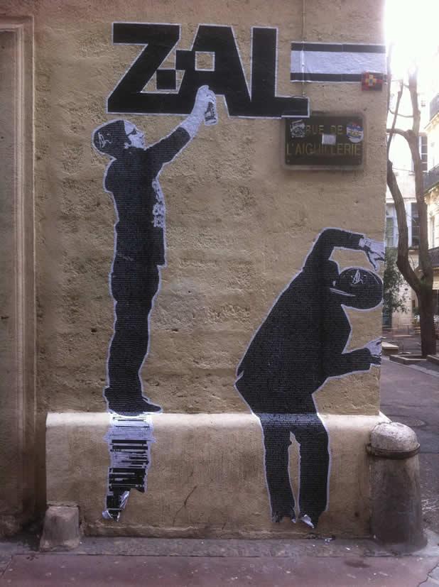19 streetart design creatif v5 20 Street Art Fun et créatifs – vol5