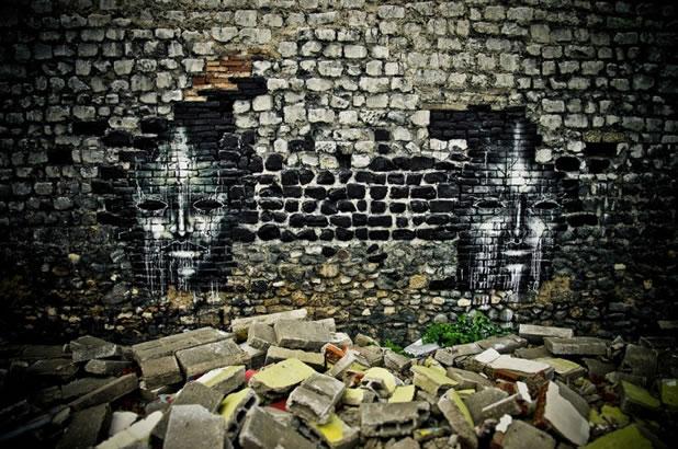 Thierry Gaude photographie les Street-Art de Lemza 23