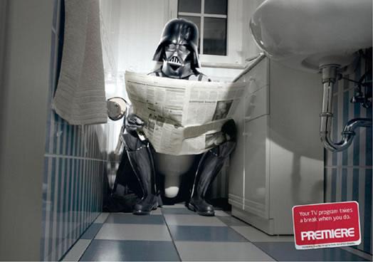 45 publicités utilisant Dark Vador 2