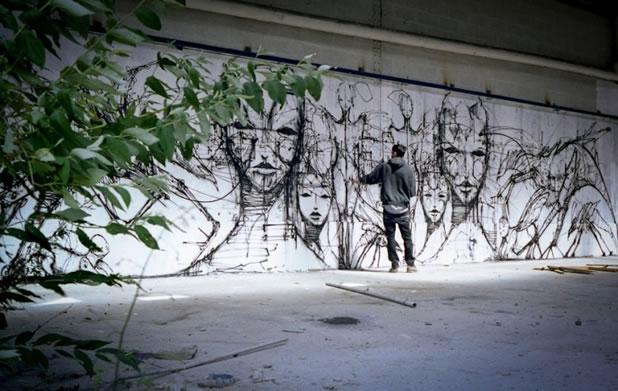 Thierry Gaude photographie les Street-Art de Lemza 26