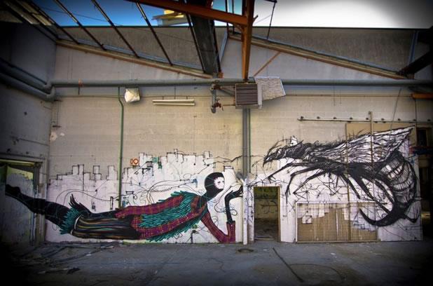 Thierry Gaude photographie les Street-Art de Lemza 27