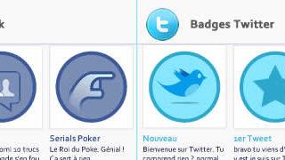 Et si Facebook Google+ et Twitter avaient des Badges comme Foursquare. 1