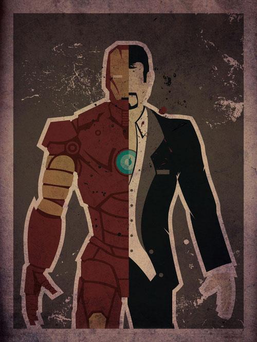 les posters de super-heros de Danny Haas 4
