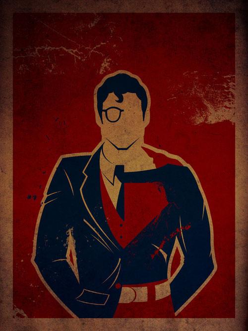 les posters de super-heros de Danny Haas 2